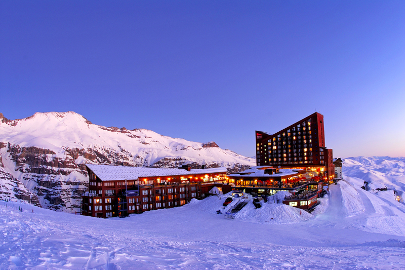 valle nevado chile
